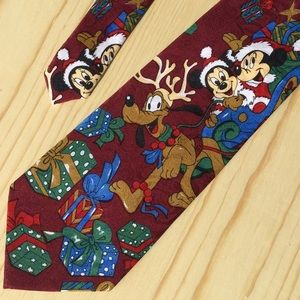 Disney Mickey & Minnie Mouse Tie